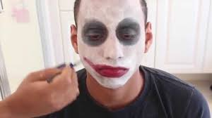 easy face makeup for halloween the joker in 3 easy steps last minute halloween makeup for