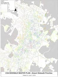 City Of Austin Map by Austin Has A Sidewalk Problem What Can The City Do To Fix It Kut
