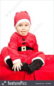 santa suit picture of baby wearing santa suit
