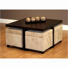 living room ottoman coffee table with storage awesome ottoman