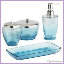 Turquoise Bathroom Accessories by Parisian Accessories Collection By Kassatex Cotton Jar 21 00