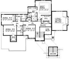 2 Story Open Floor Plans by Modern 2 Story House Floor Plans 4000 Sq Ft Angled Garage On