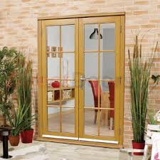 Exterior Door And Frame Sets Nuvu Oak 8 Pane Exterior Door Frame Set Fully Decorated