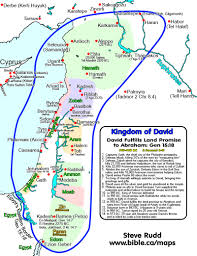 Isreal Map King David U0027s Israel A Map Of Palestine