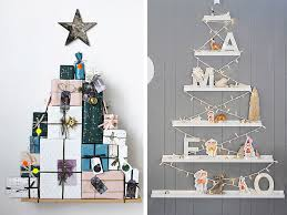 modern christmas tree unconventional christmas tree ideas freshome