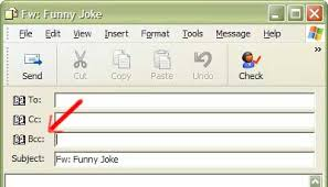 If You Blind Copy Someone Can They Reply All Using Blind Carbon Copy Bcc In Outlook Express