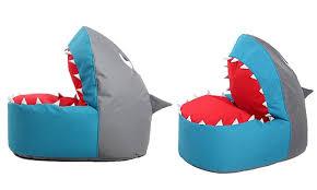 Shark Bean Bag Shark Bean Bag Chair Groupon