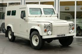 land rover skyfall land rover defender 3 5 petrol v8 armoured wagon