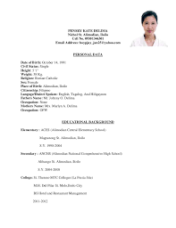 exle of resume for applying college level papers for cover letter humanitarian how