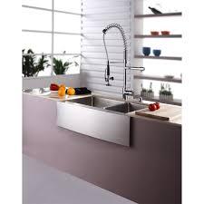 farmhouse kitchen faucet stainless steel farmhouse kitchen sink kraus khf203 33 kpf1602