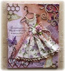 tutorial scrapbook card vintage dress canvas with tutorial scrapbook com cards tags