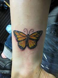 54 butterfly wrist tattoos design