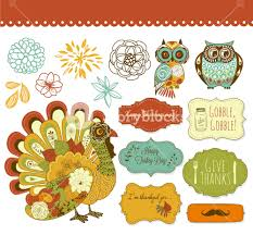 happy thanksgiving beautiful clip royalty free stock image