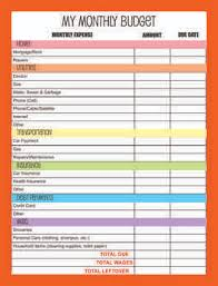 6 budget planners templates quotation formats