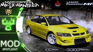 mitsubishi car 2005 mitsubishi lancer evolution viii mr need for speed most wanted