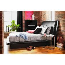 Upholstery Repair South Bend Indiana Dimora King Upholstered Bed Black Value City Furniture