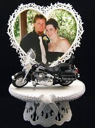 harley cake topper picture wedding cake topper with harley davidson wedding