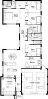 Narrow Block Floor Plans Hampton Springs Single Storey Homes In Perth By Great Living Homes
