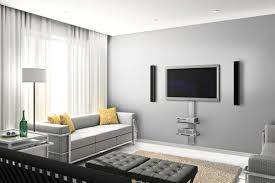 Interior Design Ideas For Tv Wall by 12 Tv Wall Mount Ideas For Lovely Modern Living Room Tv Wall