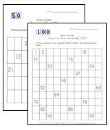 fill in the missing numbers worksheets all kids network