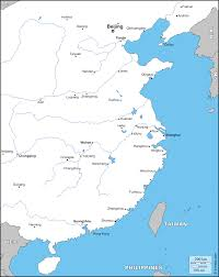 Luoyang China Map by East China Free Map Free Blank Map Free Outline Map Free Base