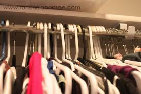clean out your closet by flipping your hangers backwards fun