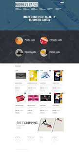 Design Business Cards Print At Home Print Shop Opencart Template