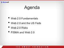 protecting federal government from web 2 0 application security