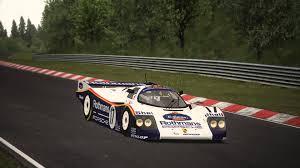 rothmans porsche 962 assetto corsa assetto garage porsche 962 c nordschleife t500rs