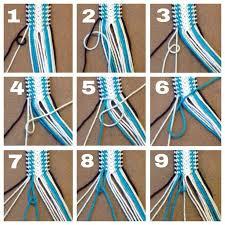 thread bracelet diy images Friendship bracelet tutorial 1 by bebe1221 on jpg