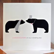 congratulations on your wedding day card by alstead