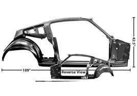 65 Mustang Interior Parts Quarter Door Frame Assembly Champion Mustang Online Shopping