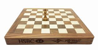 kfm06 folding magnetic chess set with customized engraved logo and