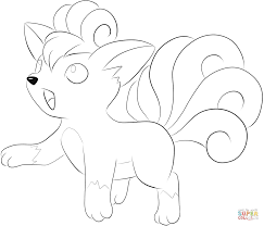 vulpix coloring page free printable coloring pages in coloring