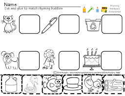 cut and paste phonics worksheets worksheets