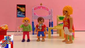 chambre d enfant playmobil playmobil français chaos dans la chambre des enfants