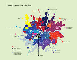 Chelsea Map Football Supporter Map Of London 986x744 Mapporn
