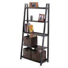 Sauder Ladder Bookcase by Amazon Com Winsome Adam 5 Tier A Frame Shelf Kitchen U0026 Dining