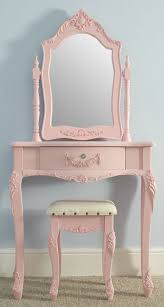 Pink Vanity Table Wishlist Shabby Chic Pink Dressing Table Stool Set Pink