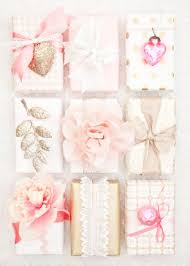 gold gift wrap diy wrapping gifts inspiration boxwood clippings pink and gold