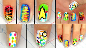 5 cute u0026 easy back to nail designs youtube