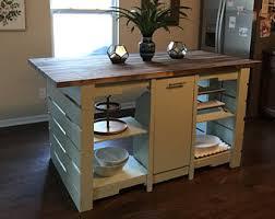 pallet kitchen island kitchen island etsy