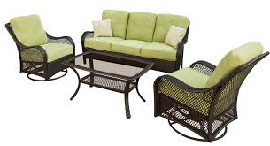 Patio Furniture Milwaukee Wi by Hanover Orleans 4 Piece Patio Set Model Orleans4pcsw