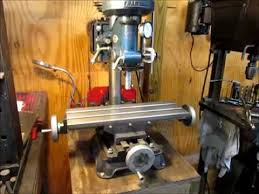 drill press milling table milling with a drill press youtube
