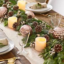 cheap christmas table centerpieces diy christmas garland ideas