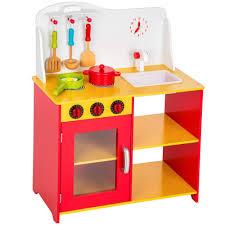 cuisine enfant cuisine enfant dinette cuisinière accessoires multicolore en