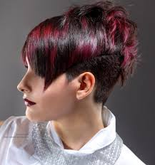 hair cut back of hair shorter than front of hair long in front short in back haircuts very short hairstyle with a