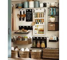 pottery barn kitchen shelves gabrielle system metal shelf pottery