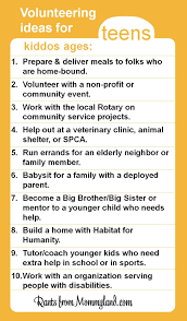 rants from mommyland kids can volunteer they just can u0027t clean