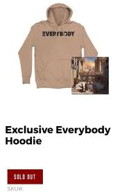 this guy is trying to sell the everybody hoodie for 200 dollars